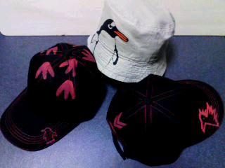 夏に向けての新作帽子!