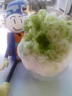 氷チャレンジ(寒っ)