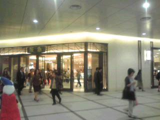 新しい阪急入り口。