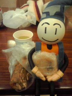 ピノコの朝御飯!
