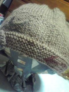 コラ帽子。ツバメ!?