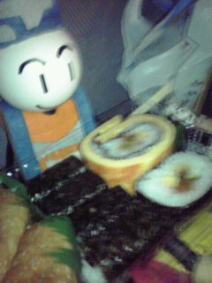 お寿司頂きます!