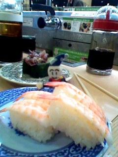 寿司喰うてましたよ〜