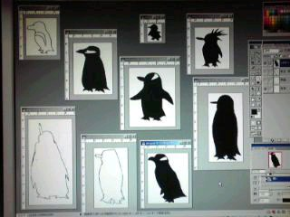 新作はもちろんペンギン!