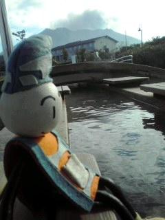 桜島に渡ったら〜